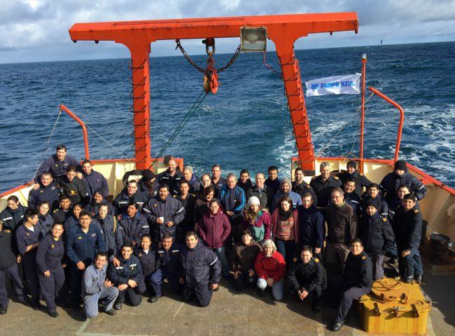 """Campaña Oceanográfica ARA Puerto Deseado 2016 """"Cassis/Malvinas Sur-2"""""""
