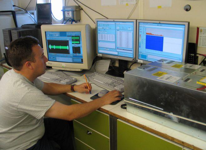 Control de calidad de los datos sísmicos obtenidos en tiempo real. (Alejandro Tassone)