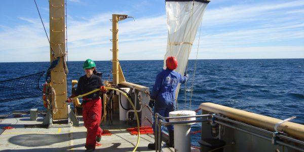 Campaña Oceanográfica Buque Coriolis II – febrero 2014. Fuente: José Luis Esteves.