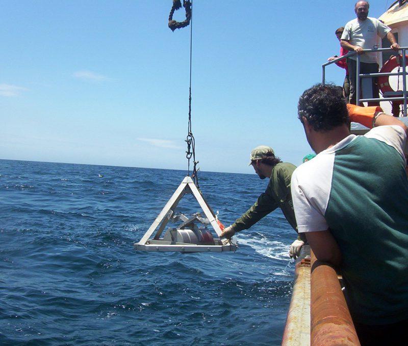Campaña Oceanográfica Buque Puerto Deseado Octubre 2013 – II. Fuente: Alberto Piola.