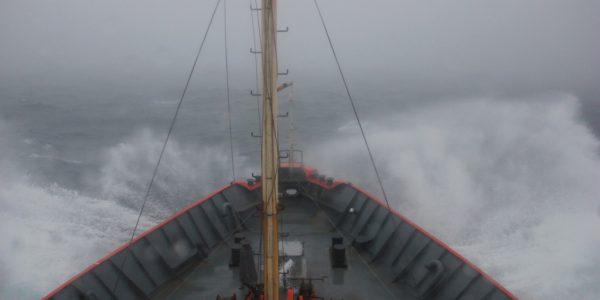 Tormenta en el mar II. Fuente: Laura Schejter.