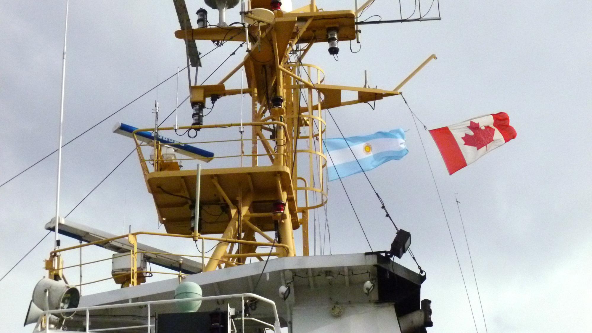 Primera campaña oceanográfica conjunta entre Argentina y Canadá.