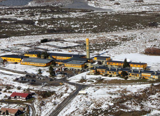 Vista aérea – CADIC –  Ushuaia,Tierra del Fuego.