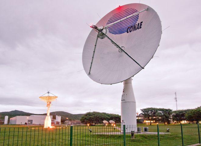 Antenas – Centro Espacial Teófilo Tabanera – CONAE.