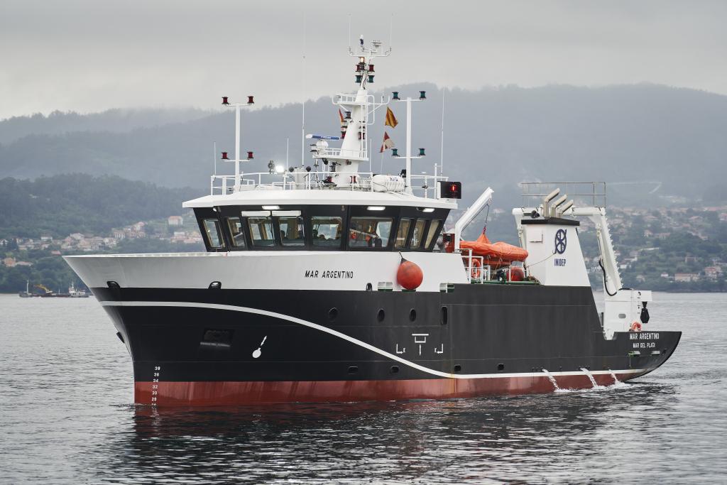 """El buque """"Mar Agentino"""" ya está en Mar del Plata"""