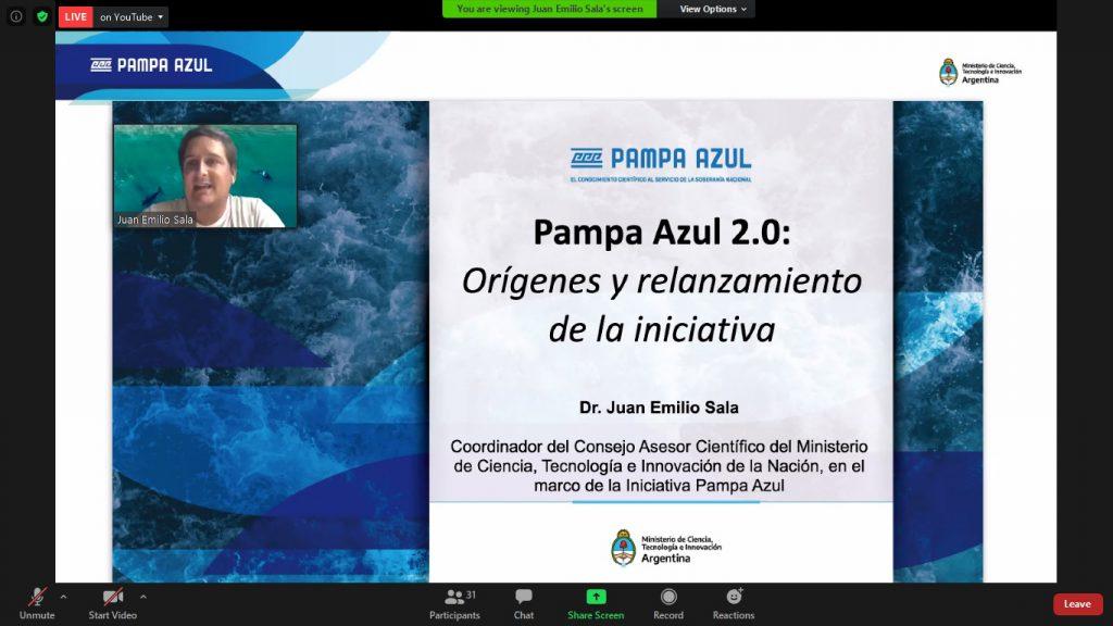 Pampa Azul fue presentada en las VI Jornadas de Ingeniería Pesquera