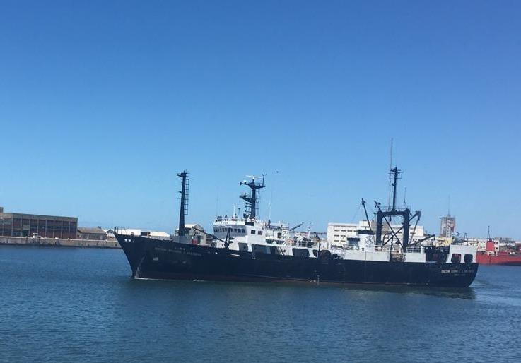 Luego de tres años, se retoman las campañas en la zona de cría de merluza en el Golfo San Jorge y litoral de Chubut