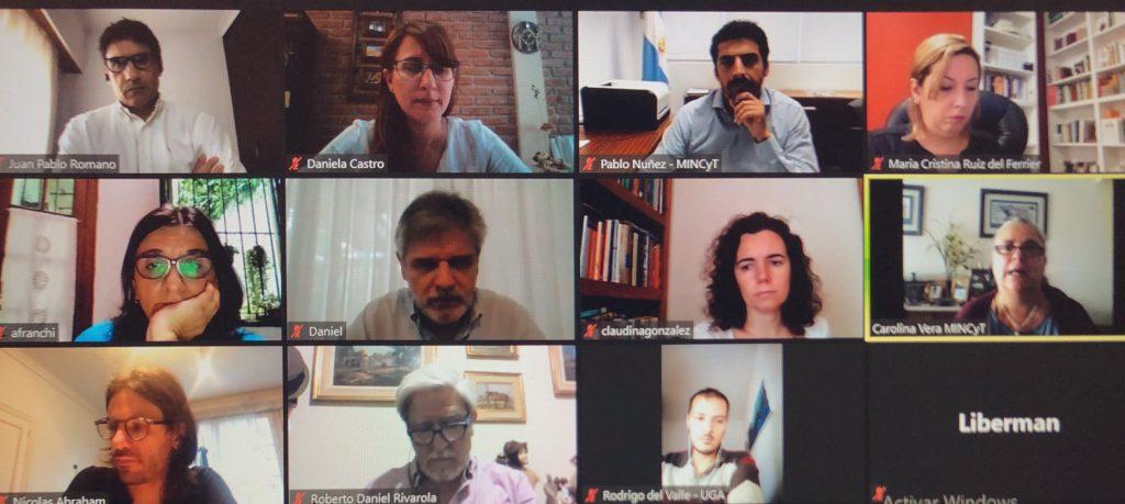 Primera reunión del Consejo de Administración del PROMAR en el marco de Pampa Azul