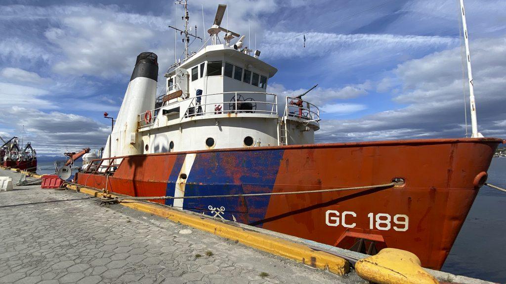 Campaña de relevamiento de frecuencias sonoras en el Mar Argentino
