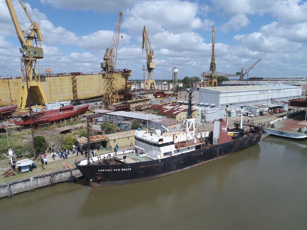 El buque Oca Balda se incorpora a la flota de la Administración de Parques Nacionales