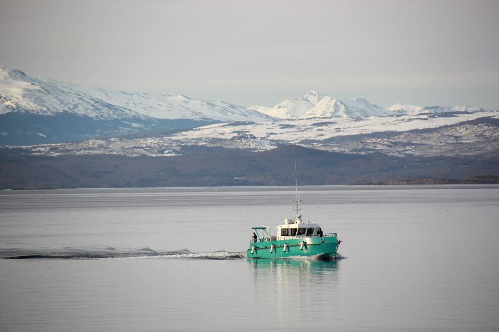 El buque Shenu llegó a Ushuaia para incorporarse al CADIC